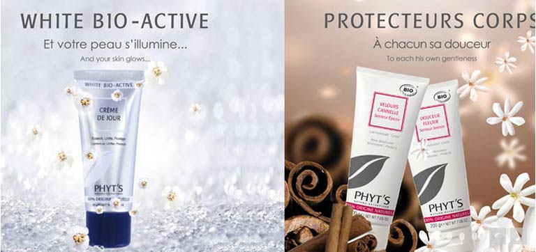 White bio-active et Protecteurs Corps by Phyt's