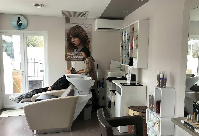 Le salon de coiffure A Fleur de Peau Martigues